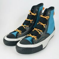 Converse Chuck 70 Tech Hiker High Top Rapid Teal Filed Orange 162283C Size 8