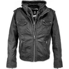 Cappotti e giacche da uomo lunghi con cappucci pelle