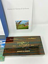 100th Anniversary Destino al Siglo Limited Edition Polished Wood Cigar Box Set
