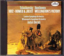 Antal DORATI TCHAIKOVSKY 1812 Overture BEETHOVEN Wellington's Victory MERCURY CD