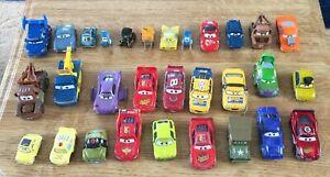*** Disney Pixar Cars - Diecast Bundle x 30 - All Playworn - Free UK Postage ***