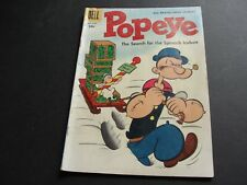 POPEYE-The Search for the Spinach Icebox Vol.1 #37-1956- Silver Age Comic Book.