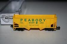 Mehano Spur N: T474 Hopper Car PSL PEABODY SHORT LINE, OVP