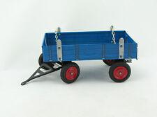 Blechspielzeug Traktor Anhänger blau für Eilbulldog, Neuheit 2015 von KOVAP 0407