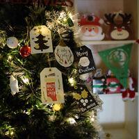 18pcs/set Kraft Paper Tags Christmas DIY Crafts Hang Tag Gift Wrapping SupplDSUK