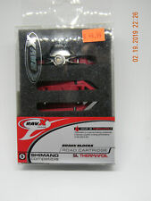 RavX Road C Alloy SL Thermafoil Red Pad Brake Shoes Two pair
