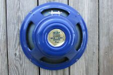 "CELESTION ALNICO G12 BLUE 12"" MODIFIED TONE TUBBY HEMPCONE 16 OHM SPEAKER UK"