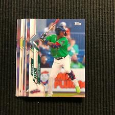 2020 TOPPS PRO DEBUT ATLANTA BRAVES TEAM SET 8 CARDS  CRISTIAN PACHE +