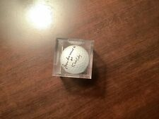 New listing muhammad ali/ Cassius Clay signed Pinnacle golf ball