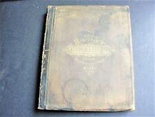 1798-1878 History of Ashtabula County,Ohio-Pub. by Williams Brothers, 1878 Book.