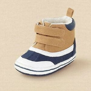 Boot  lil' dock hi-top sneaker Size 0/3 Months NEW