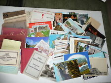 Lot 297 International Postcards Vintage Recent Color Black/White Motels Tourist