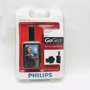 PAC017 Phillips GoGear Arm Band/beltclip/ silicone pouch for mp3 player