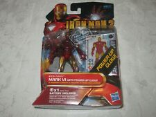 Hasbro Marvel Iron Man 2 Movie Series #08 Mark VI with Power-Up Glow Figure