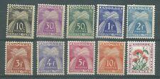 timbres neufs Andorre YT Taxe 21 à 24* - 26 à 30* - 46*