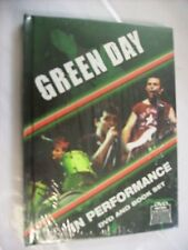GREEN DAY - IN PERFORMANCE - DVD + BOOK BRAND NEW SEALED - PAL
