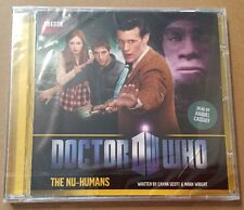 SEALED Doctor Who - The Nu-Humans BBC CD Matt Smith 2012 NEW 11th Doctor