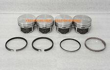 Mercury/Mercruiser 140 Chevy Marine 3.0/3.0L/181 Flat Top Pistons Rings Kit +40