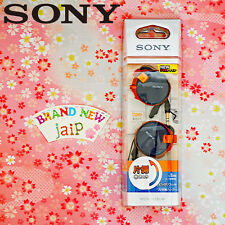 SONY☆Japan-MDR-Q38LW Spicy Blue Clip-on Stereo Headphones with Retractable,JAIP