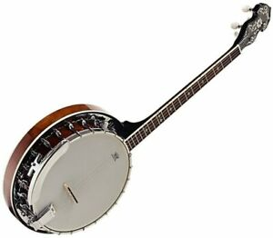 Ozark Tenor Electric Banjo Rolled Brass tone ring - Comes with Gig Bag 2112TE