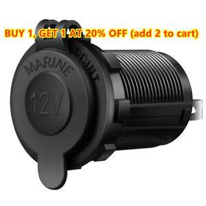 12V Car Lighter Socket Outlet Charger Power Adapter Plug Waterproof