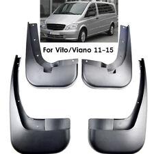 Set Mudflaps For Mercedes Benz W639 11-15 Vito Viano Splash Guards Mudguards