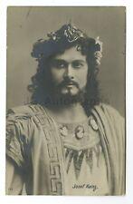 Josef Kainz - Notable Austrian Stage Actor - Vintage Silver Print Postcard