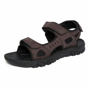 Men Sand Walking Beach Slingbacks Shoes Cut Out Non-Slip Casual Sandals