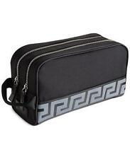 Versace Parfums Men Toiletry Case Pouch Shaving Dopp Kit Bag