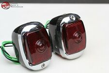 Early Chevy Truck Right Hand Tail Lamp Lights Custom Hot Rat Street Rod Pair New