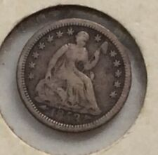 1853 Half Dime with arrows in good condition
