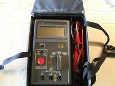 Extech Model 380360 Insulation Tester Meghohmmeter With Leads And Case