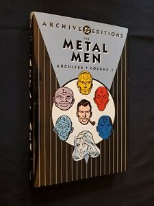 DC ARCHIVE METAL MEN VOLUME 1 HARDCOVER HC FIRST PRINTING