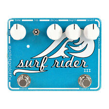 SolidGoldFX Surf Rider III Reverb Pedal