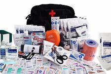 Emergency Medical Trauma Bag - Fully Stocked - First Aid Responder Patrol Kit