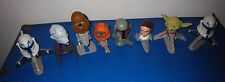 Lot of 8 Toys Toy McDonalds Star Wars Bobbleheads Princess Lea Yota Misc. Asst.