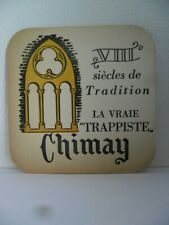Trappiste Chimay 1950's Abbaye Pater Monks Coaster Bierviltje