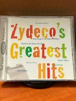 Zydeco's Greatest Hits by Various Artists (CD, Sep-1996, Easydisc) Brand New