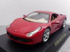 2010 Ferrari 458 Italie - Rouge - Modèle moulé Formule 1 F1 Voiture 1/43 IXO