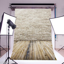 10x20FT Bricks Wall Floor BACKDROP Vinyl Photography Studio Prop Background ZZ44
