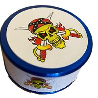 50mm Grinder Amsterdam Style 3 Part Metal. LIMITED EDITION JOLLY ROGER