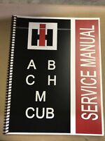 H International Harvester Farmall Tractor Technical Service Shop Repair Manual