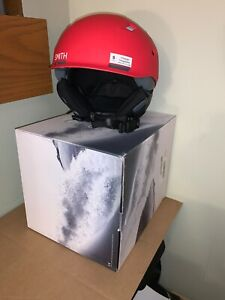 NIB Smith Men's Quantum MIPS Snow Helmet - Matte Red Rock/Ink - Small - $300