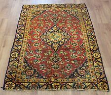 OLD WOOL HAND MADE PERSIAN ORIENTAL FLORAL RUNNER AREA RUG CARPET 142x93CM
