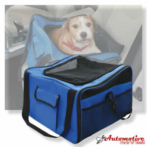 Pet Car Booster Seat and Pet Carrier Bag by Streetwize for Small Dog Cat etc.