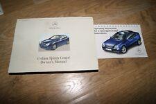 MERCEDES SPORT COUPE cl203 manuale di istruzioni 2005 2006 manuale classe C BA