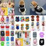 Cute Small Dog Clothes Summer Pet Puppy T Shirt Costume Dog Cat Apparel Vest Lot