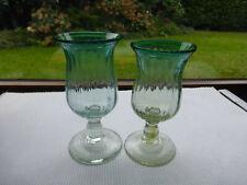 Antikes Barock-Kelchglas mit  - Abriss - 2 Stück