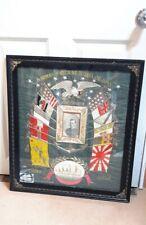 Naval Embroidery Memorabilia. serviceman's cruise China, Japan. H. Imamura