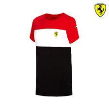 2016 Ferrari F1 Team niños Carrera Camiseta Rojo/Blanco/Negro Talla 128 Cm (kids) NUEVO